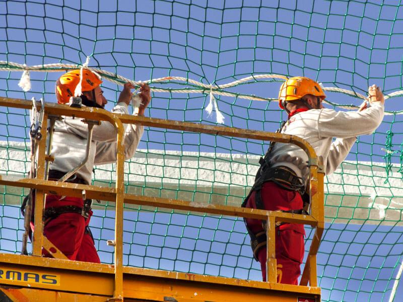 Redes de Seguridad instalación
